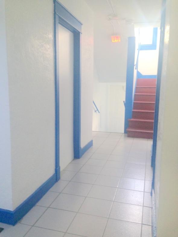 1890 hallway